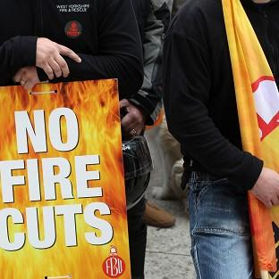 Thurrock Gazette: Firefighters are staging more industrial action in a dispute with the Government over pension changes
