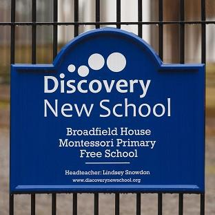 Thurrock Gazette: Pupils at a free school, understood to be Discovery New School in West Sussex, which was closed down amid standards concerns  had been 'taught nothing', a union leader is claiming