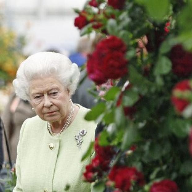 Thurrock Gazette: The Queen on a previous visit to the C
