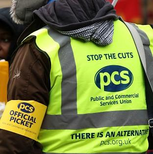 PCS union members are calling for strike action over public pay awards