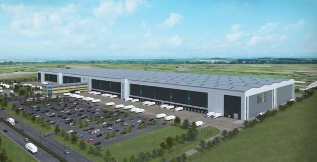 How the M&S distribution warehouse at London Gateway would have looked
