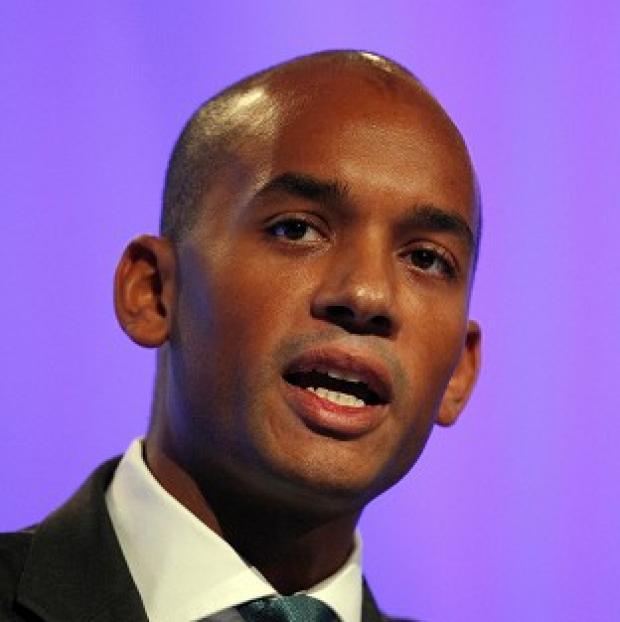 Thurrock Gazette: Chuka Umunna cautioned Labour against taking too much pleasure in the collapse of the Liberal Democrats