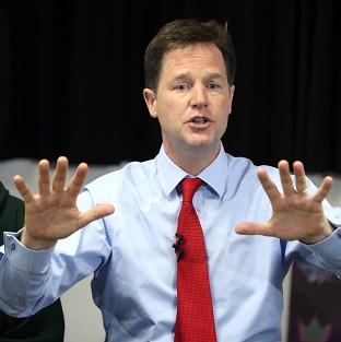 Just 13% of people thought Nick Clegg was doing a good job, according to a po