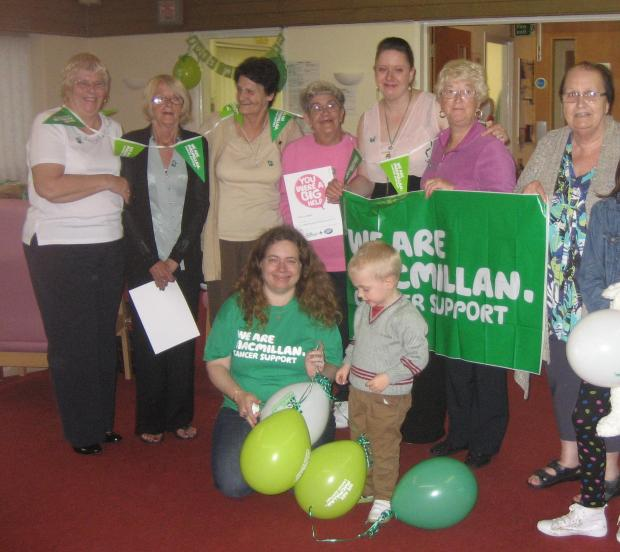 Night in raises £400 for Macmillan