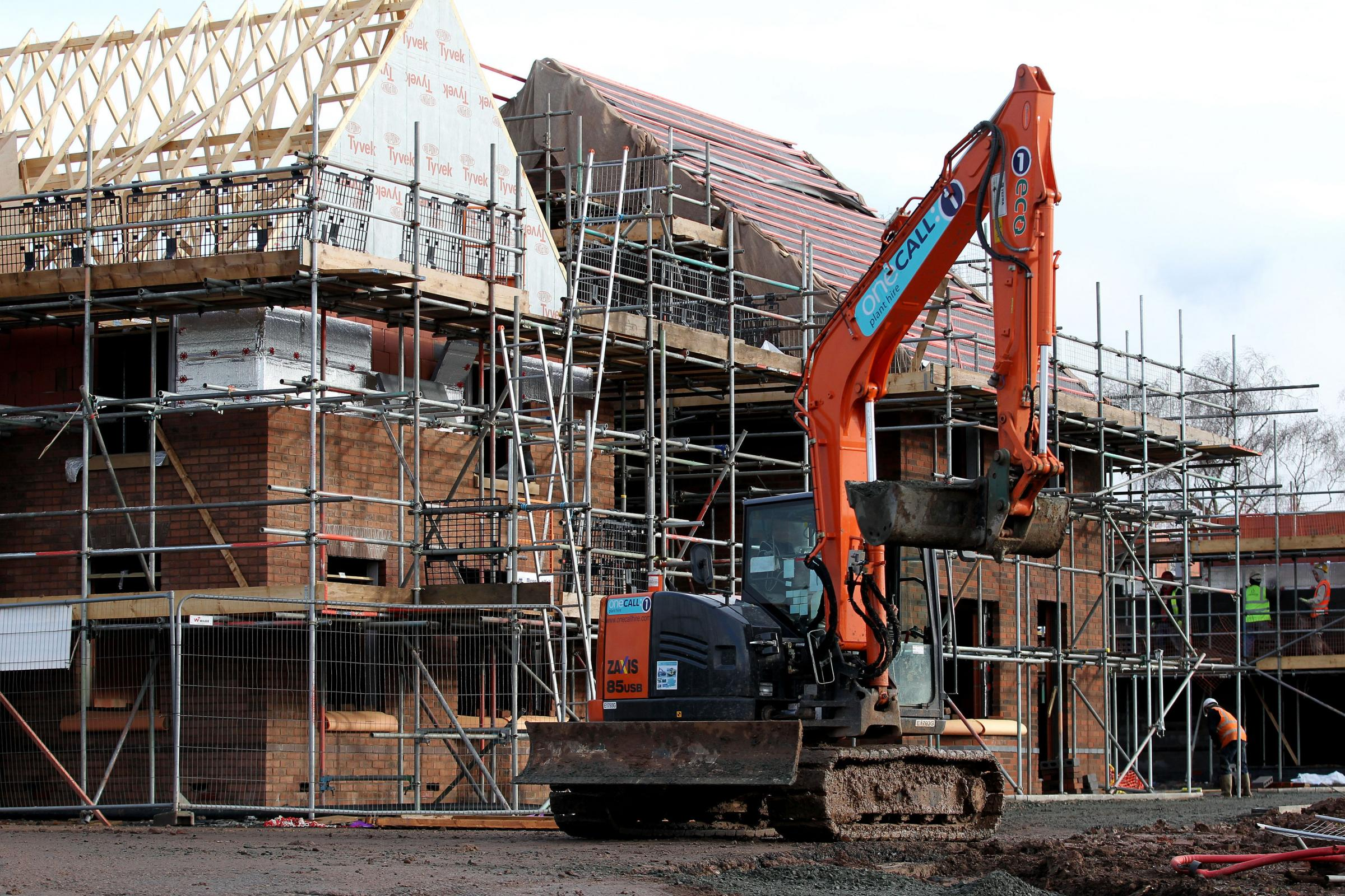 The council has set a target to build 1,000 new homes