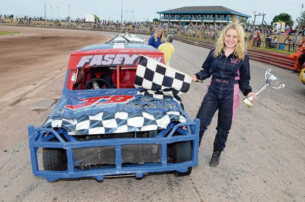Mini Stox winner Sophie Fasey Picture by MATT BULL