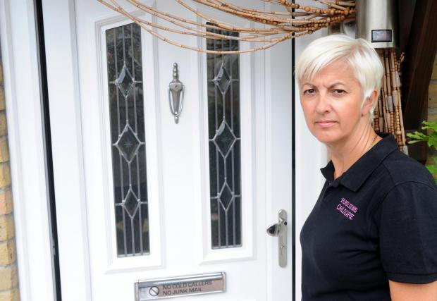 Kerry Dedman-Brown outside her South Ockendon home
