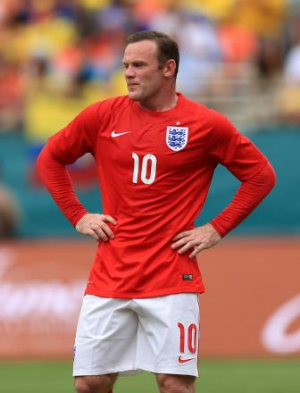 Wayne Rooney, will he face the Italians?