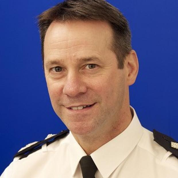 Thurrock Gazette: Mark Gilmore, chief constable of West Yorkshire Police, has been suspended