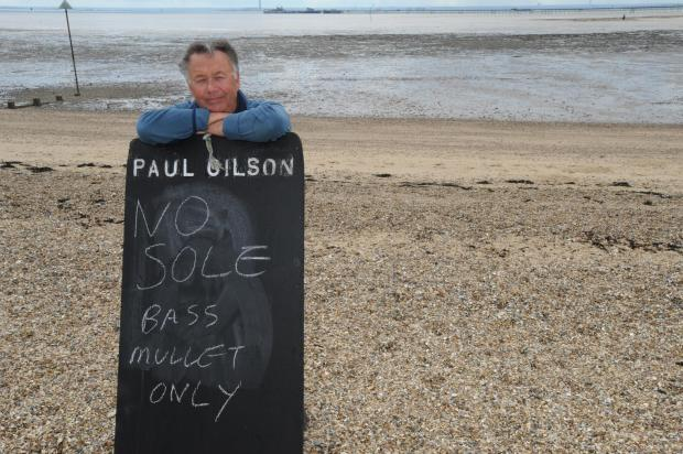 Thurrock Gazette: Paul Gilson, co-chairman of Leigh and Southend Fishermen's Association