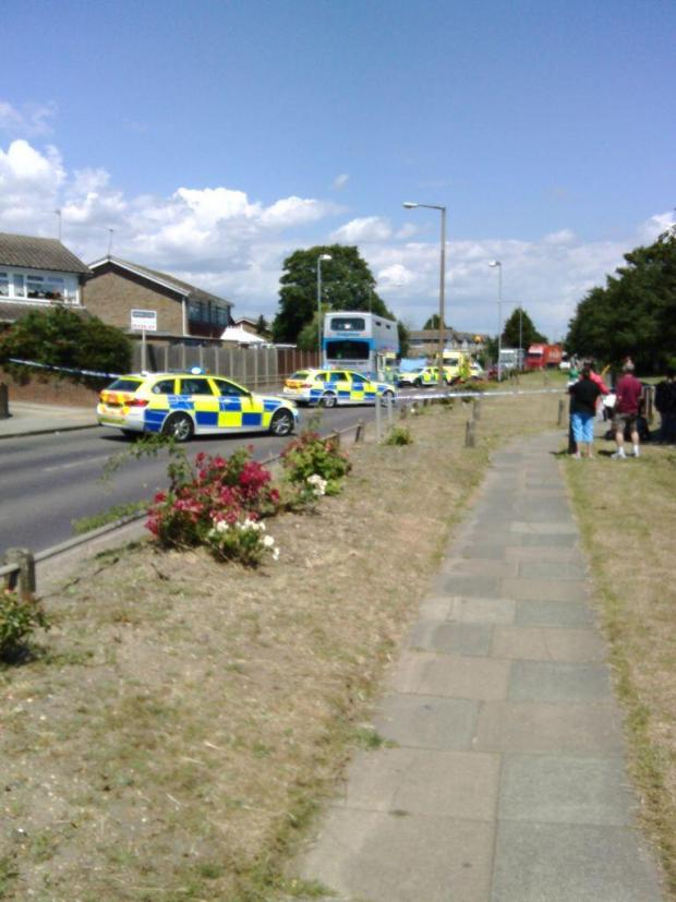Thurrock Gazette: The scene at Bren
