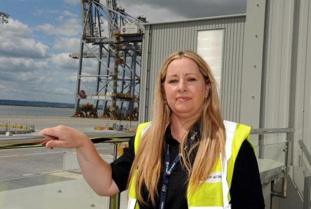 Thurrock Gazette: Heather Jee London Gateway