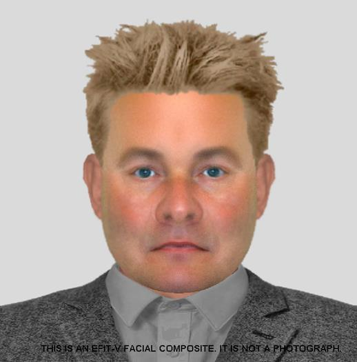 Police have produced an Efit composite of the suspect.