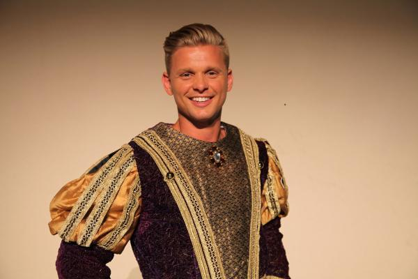 Jeff Brazier as the Prince