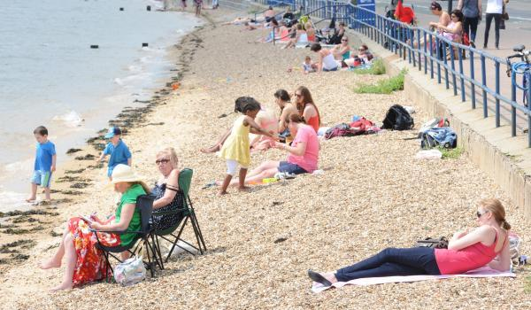 Thurrock Gazette: Essex set for a scorcher!