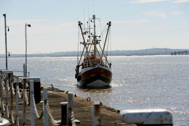 Thurrock Gazette: Fishing survey vessel