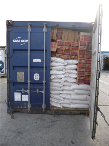 The haul was found in a container passing through the Port of Tilbury