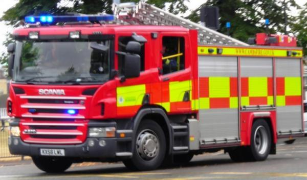 Man suffering from burns following fire in South Ockendon