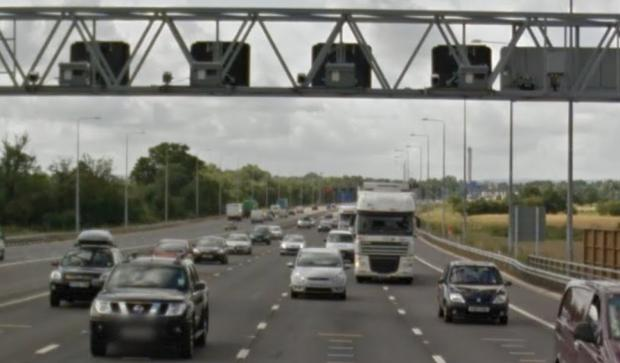 The speed cameras on the M25 [PICS: Google Maps]