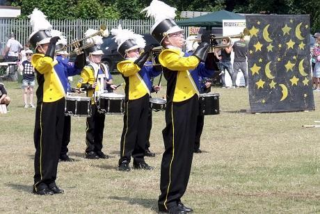 National drum corps show makes its way to Thurrock