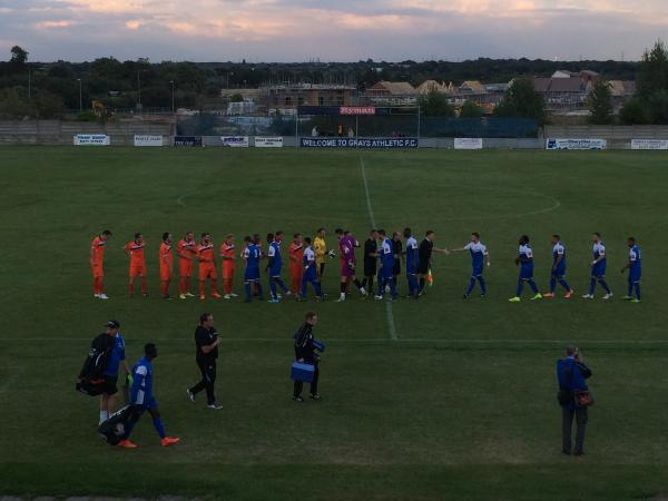 Grays Athletic hosted Margate on Wednesday evening