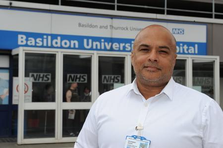 Hospital boss praises response of his staff in the wake of Tilbury container tragedy