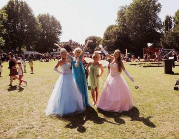 Have a ball with your favourite princesses