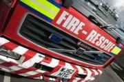 Firefighters tackle garage blaze in Grays