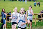 Hayley Instance sprints away from her rivals in the closing stages at Hylands Park