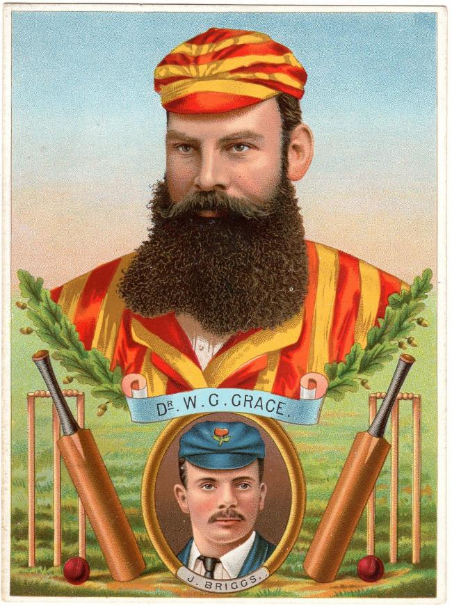It simply wouldn't have happened in his day - W.G.Grace, an English gentleman and cricket legend