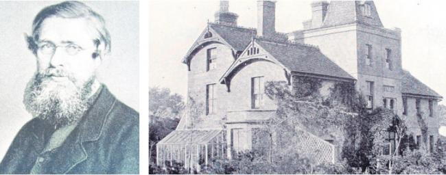 Famous resident – Alfred Wallace and his house, The Dell
