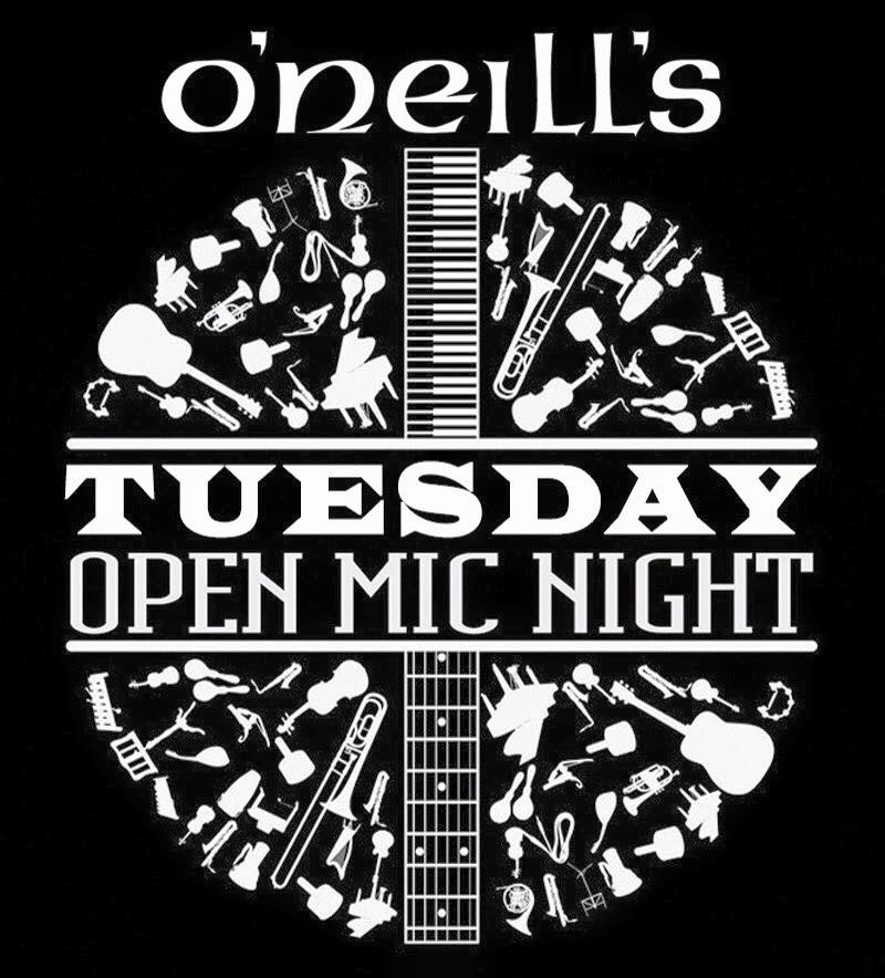 Tues Open Mic at O'Neill's Southend
