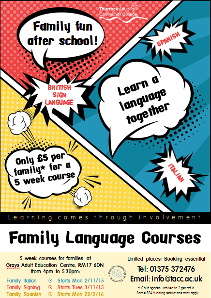 Family Learning - Learn Spanish together
