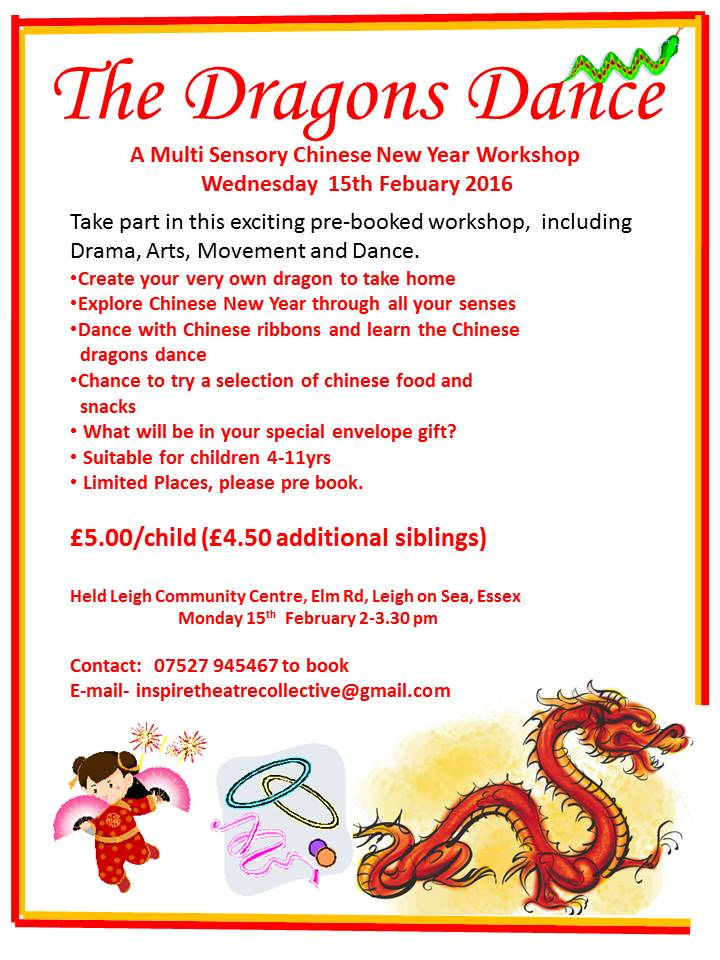 Chinese New Year Childrens Workshop