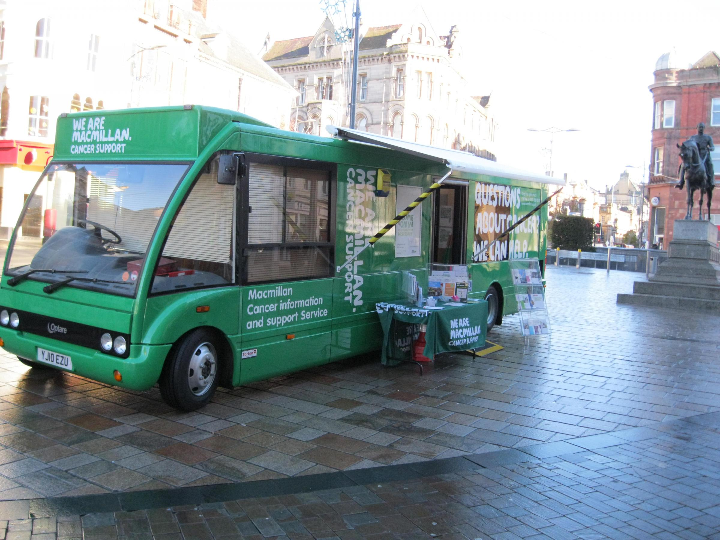 Macmillan Cancer Support Information Service in Grays