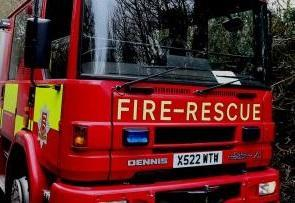 Firefighters tackle car on fire in Orsett