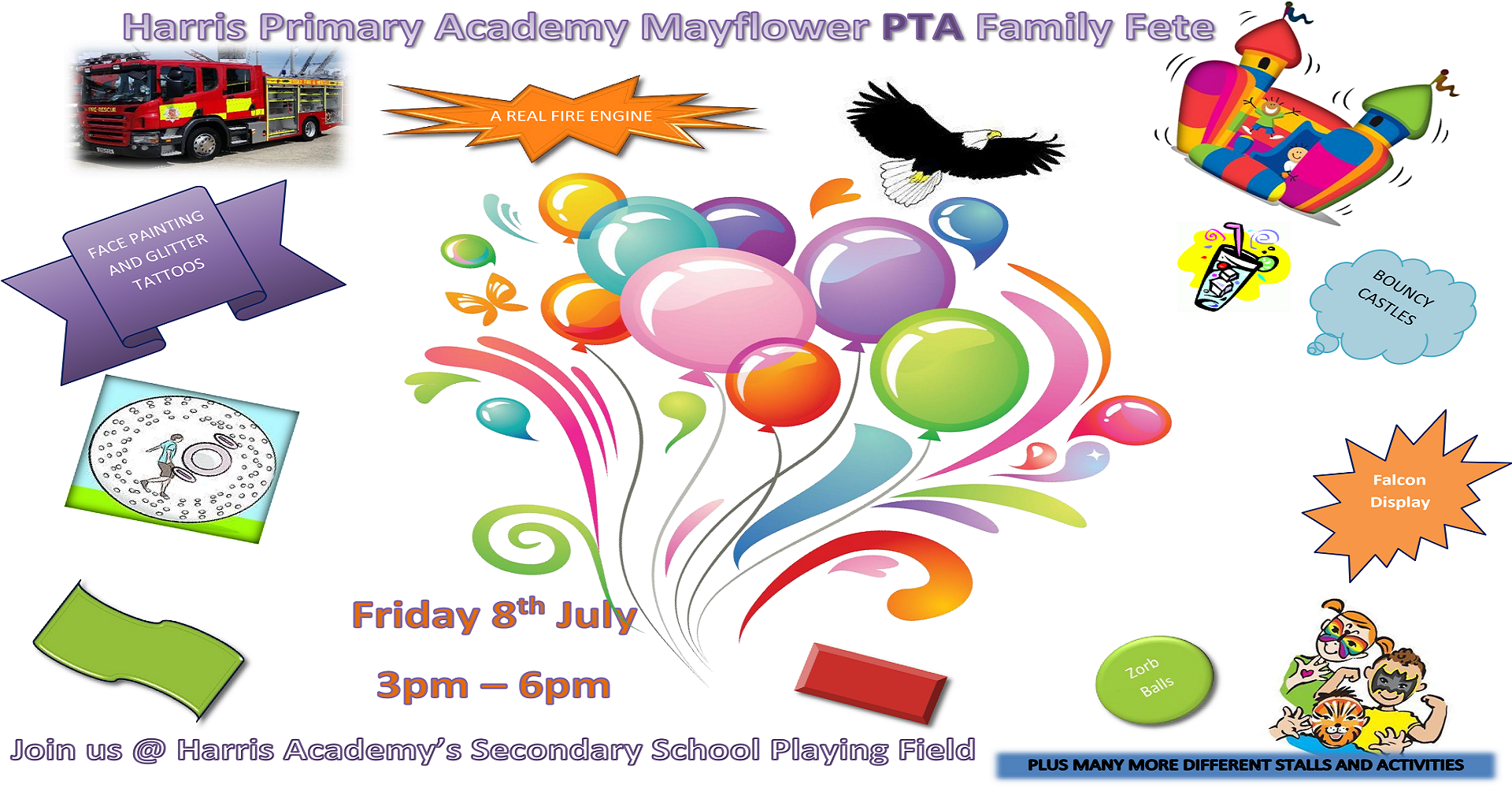 Harris Primary Academy Mayflower PTA Family Fete - Essex