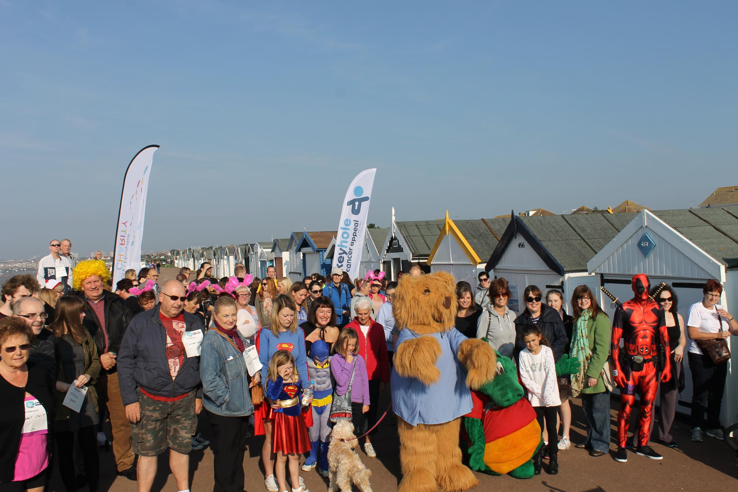 Southend Hospital Charity Walk for Wards