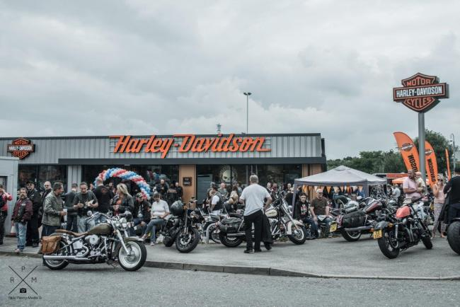 Over 1,000 turn out for new Harley-Davidson store launch | Thurrock