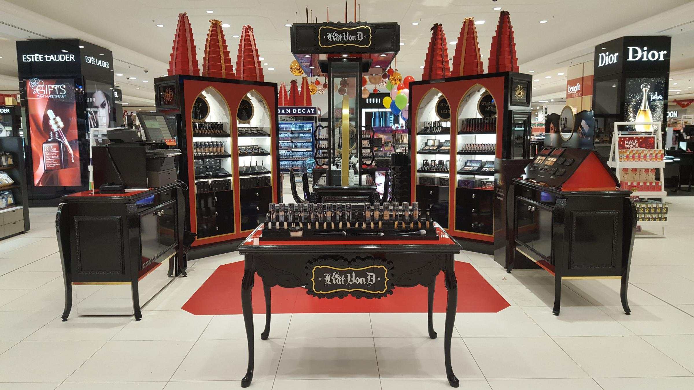 Image result for debenhams kat von d pa