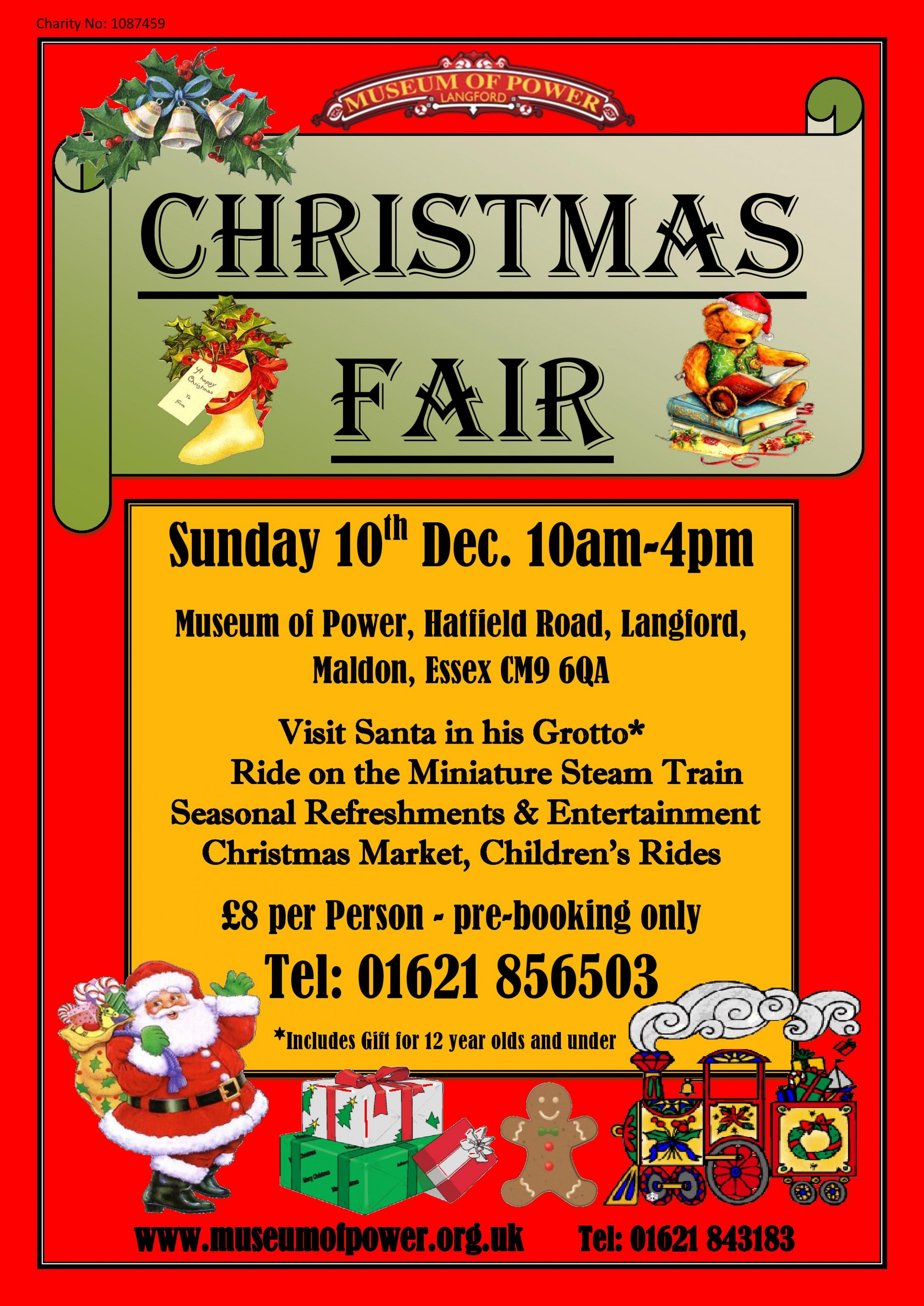 Christmas Fair with Santa