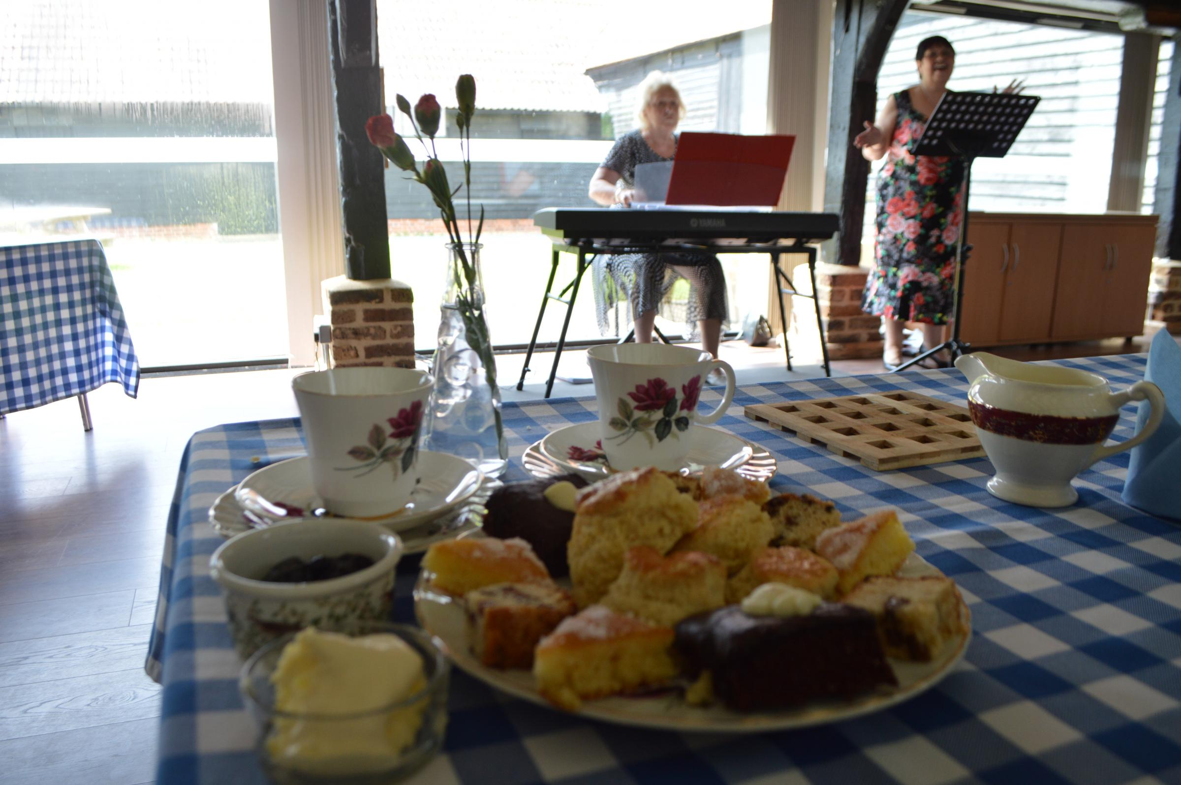 Musical Cream Teas
