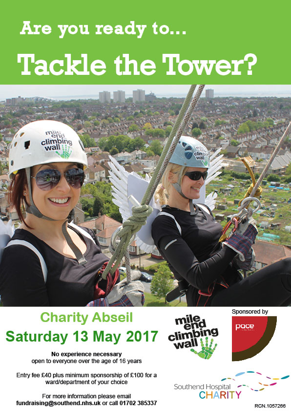 Tackle The Tower Charity Abseil