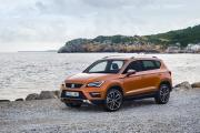 The 4.36-metre Seat Ateca shares the distinctive front styling of its hatchback cousin