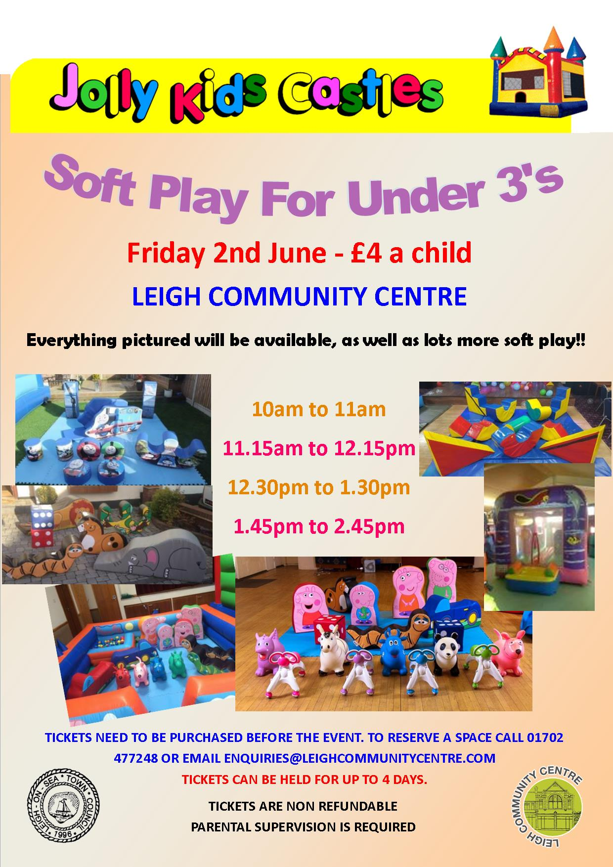Soft Play for Under 3's