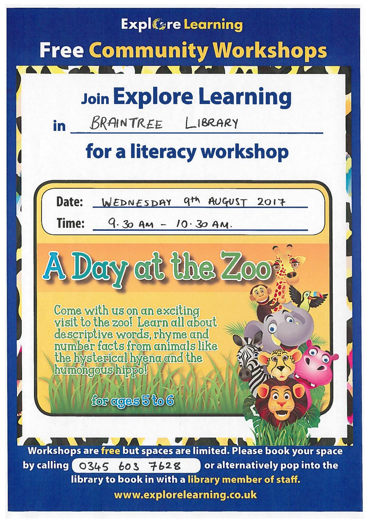 Explore Learning Children's Creative Writing Workshop