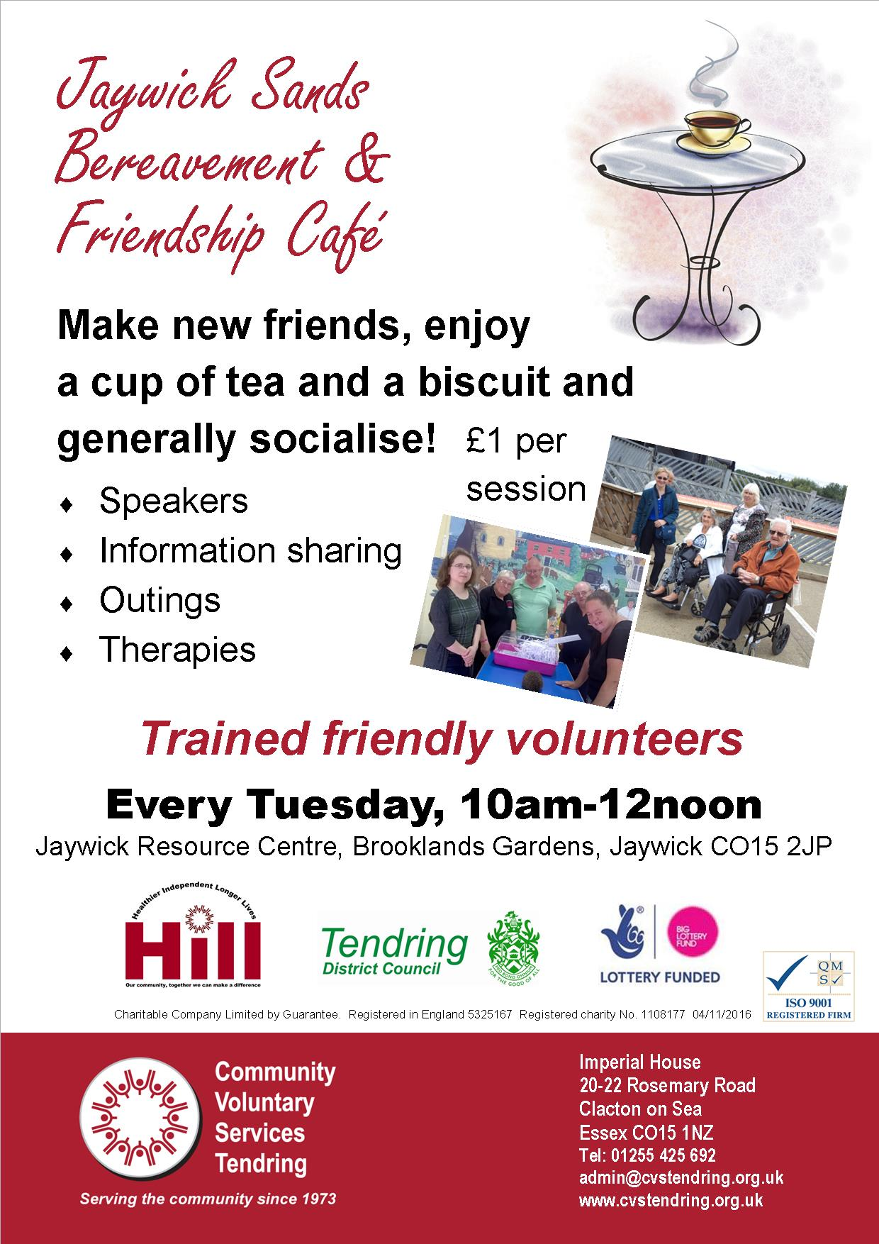 Jaywick Sands Bereavement and Friendship Cafe