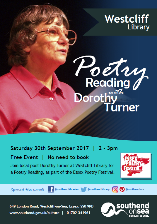 Poetry Reading with Dorothy Turner