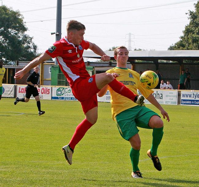 Clinical - Jake Robinson makes it four goals for the season Picture: NICKY HAYES