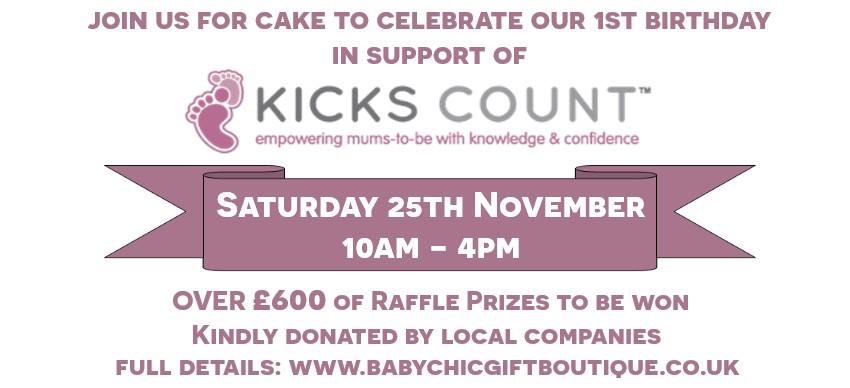 Fundraiser Event to celebrate Baby Chic Gift Boutique's 1st birthday